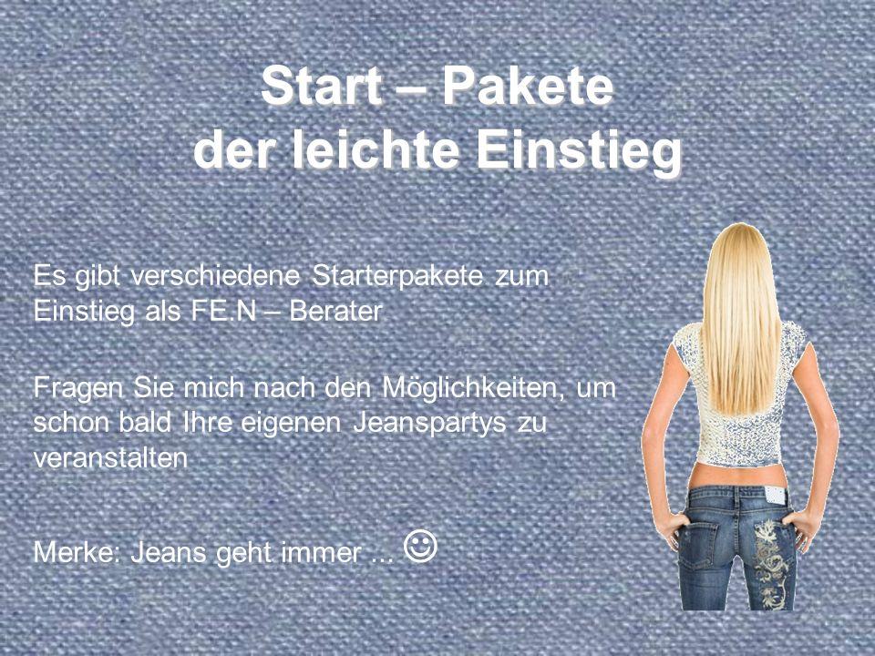 Start – Pakete der leichte Einstieg