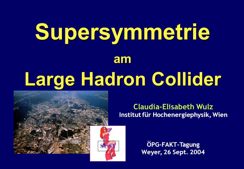 Claudia-Elisabeth Wulz Institut für Hochenergiephysik, Wien