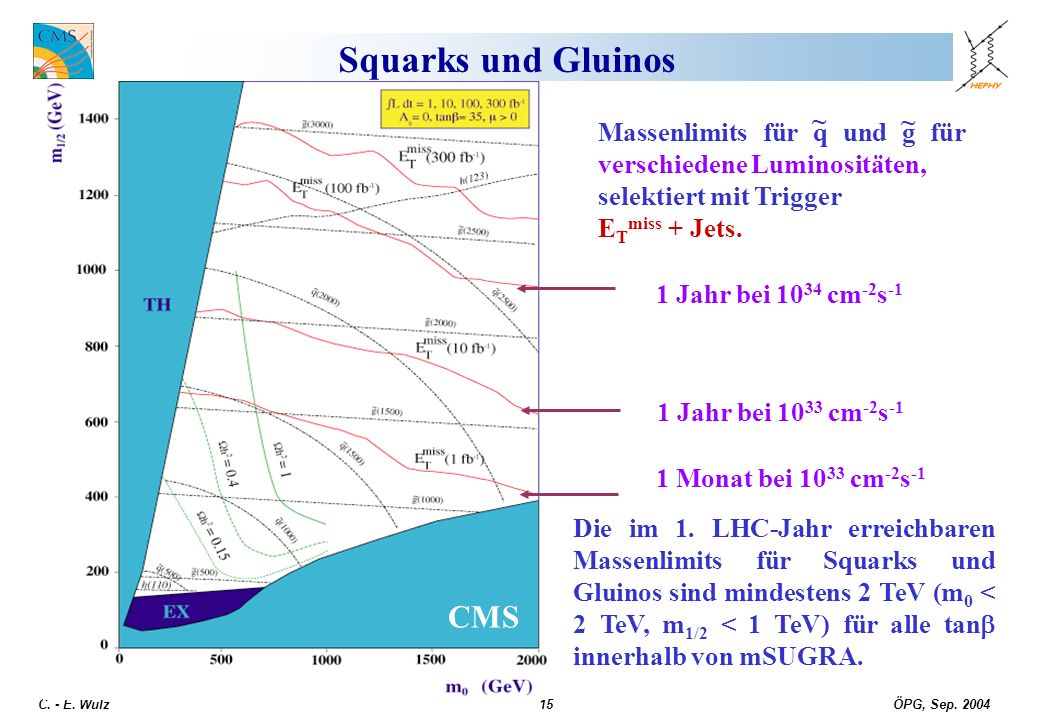 Squarks und Gluinos CMS ~