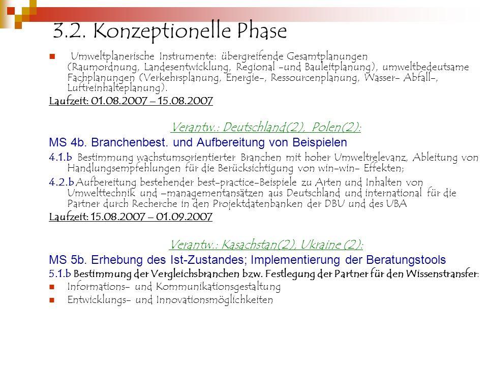 3.2. Konzeptionelle Phase