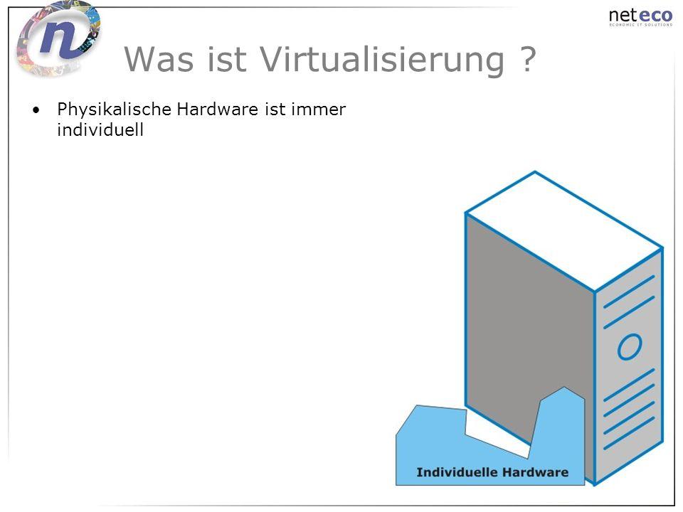 Was ist Virtualisierung