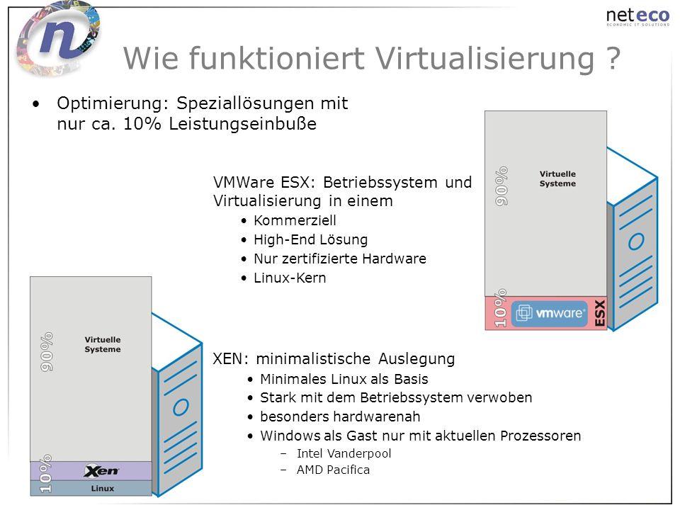 Wie funktioniert Virtualisierung