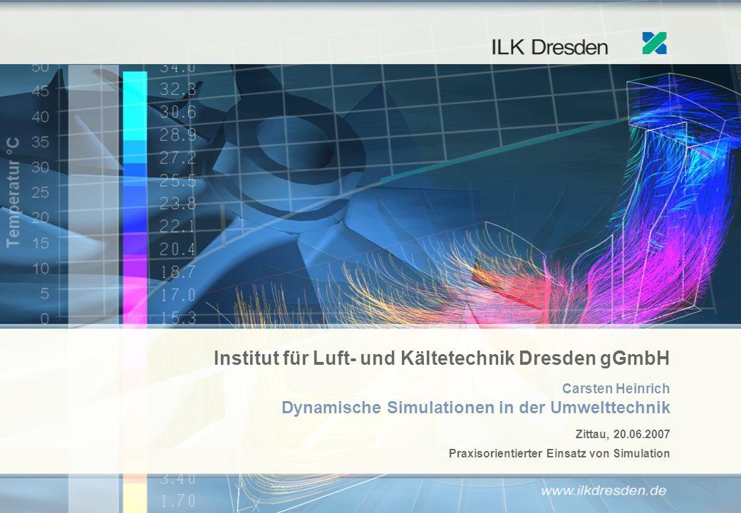 Carsten Heinrich Dynamische Simulationen in der Umwelttechnik