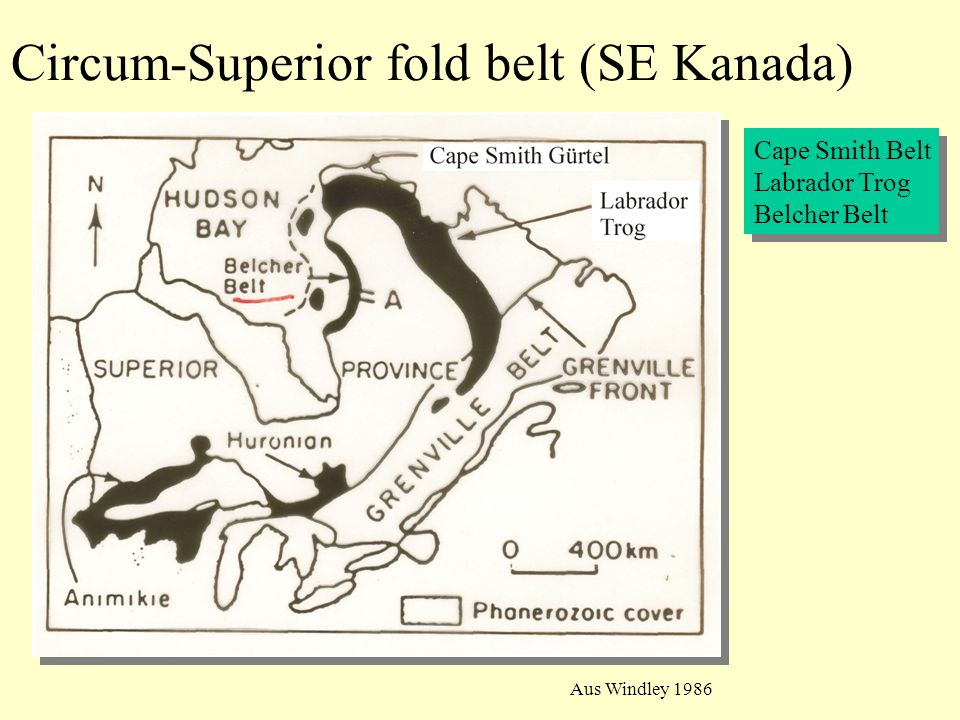 Circum-Superior fold belt (SE Kanada)