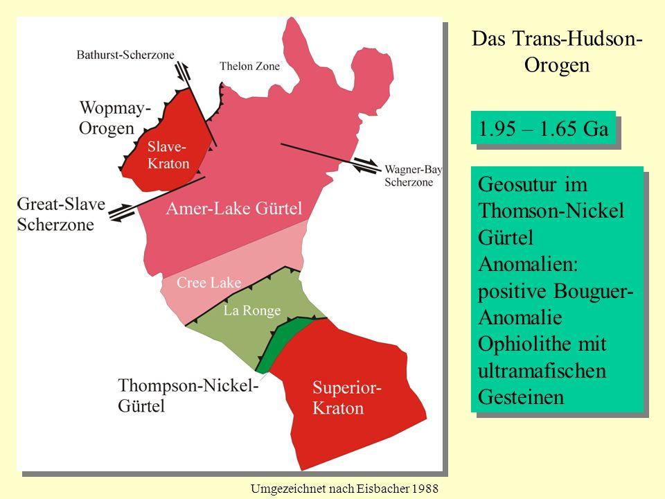 Das Trans-Hudson- Orogen