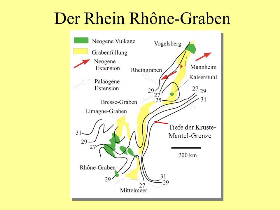 Der Rhein Rhône-Graben