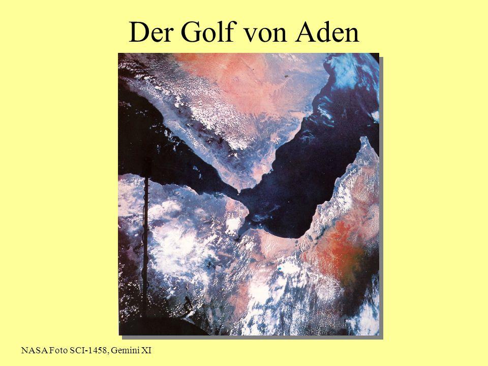 Der Golf von Aden NASA Foto SCI-1458, Gemini XI