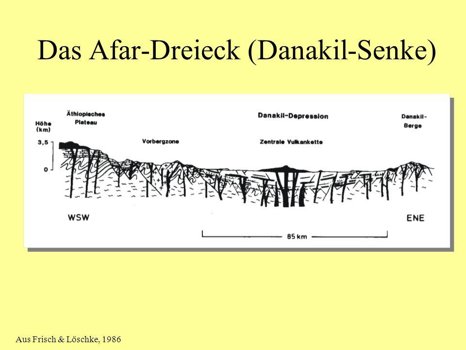 Das Afar-Dreieck (Danakil-Senke)