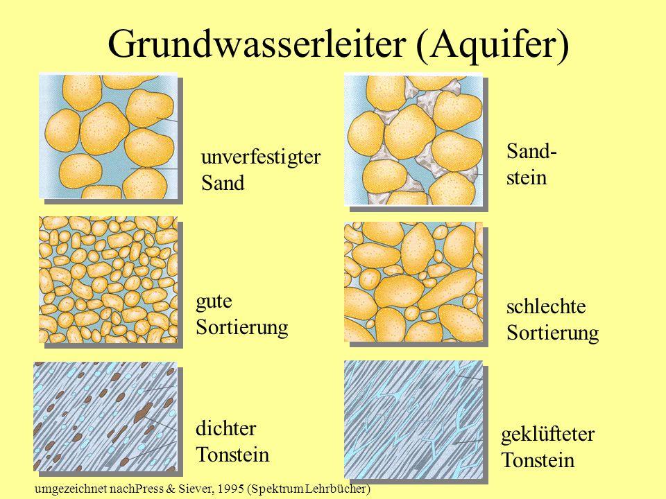 Grundwasserleiter (Aquifer)