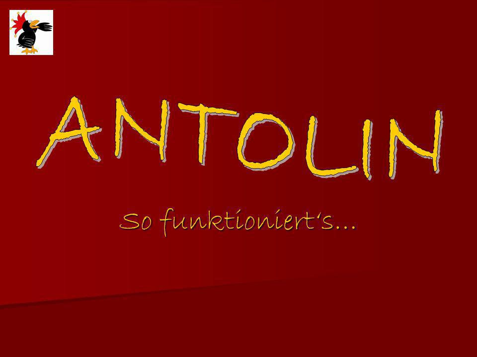 ANTOLIN So funktioniert's…
