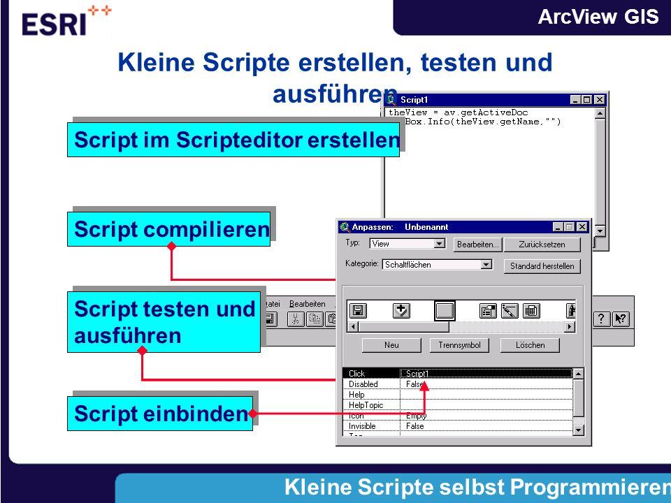 Kleine Scripte erstellen, testen und ausführen