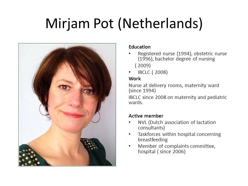Mirjam Pot (Netherlands)