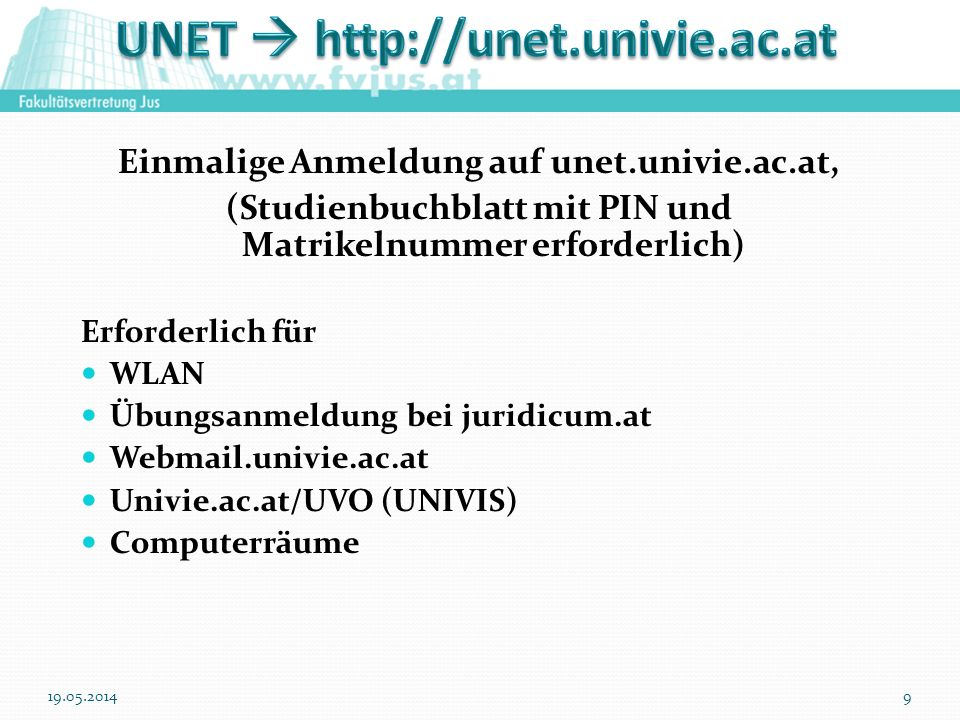 UNET  http://unet.univie.ac.at