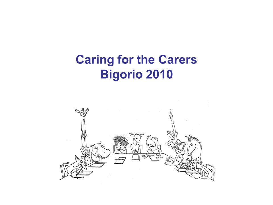 Caring for the Carers Bigorio 2010
