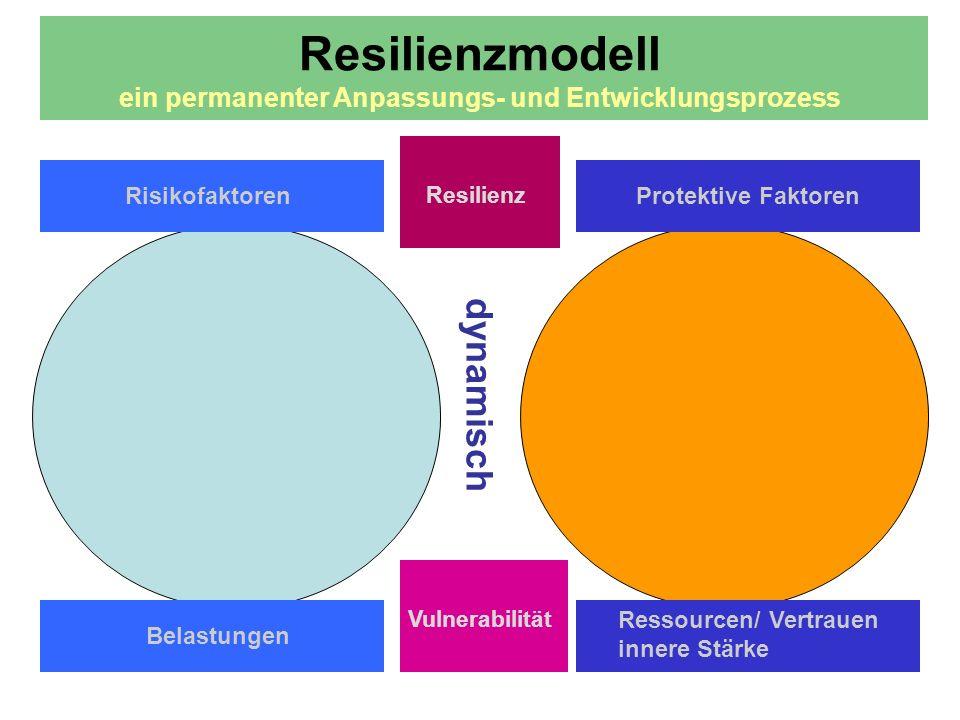 Resilienzmodell ein permanenter Anpassungs- und Entwicklungsprozess