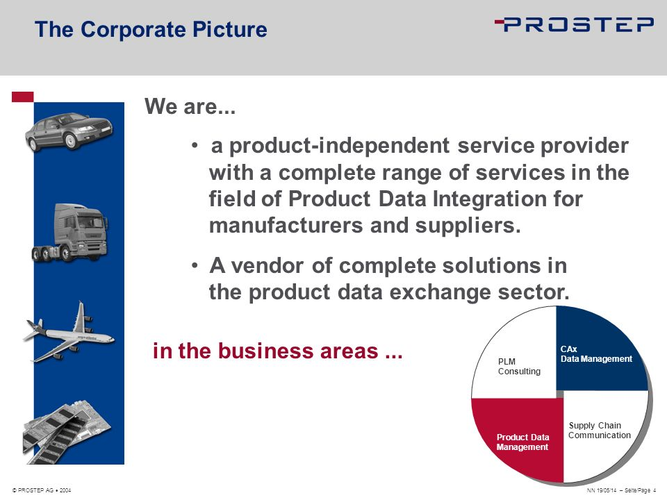 A vendor of complete solutions in the product data exchange sector.