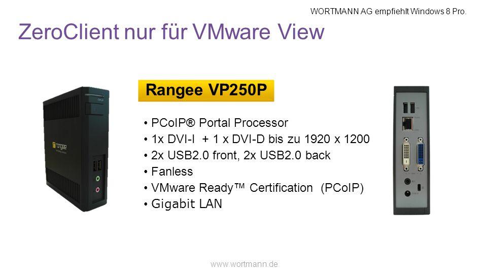 ZeroClient nur für VMware View