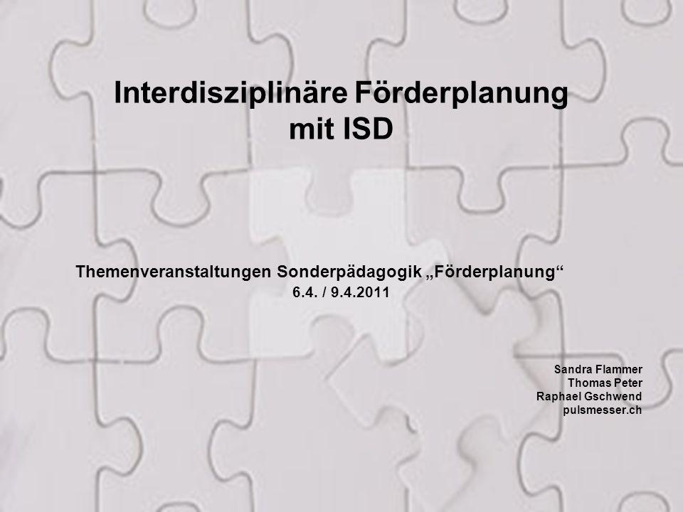 Interdisziplinäre Förderplanung