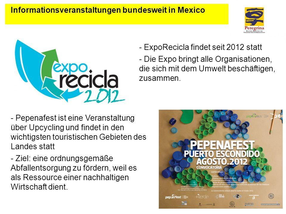 Informationsveranstaltungen bundesweit in Mexico