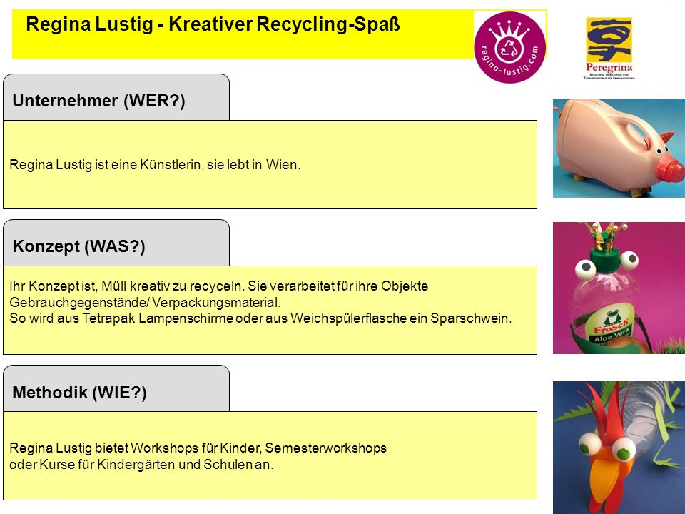 Regina Lustig - Kreativer Recycling-Spaß