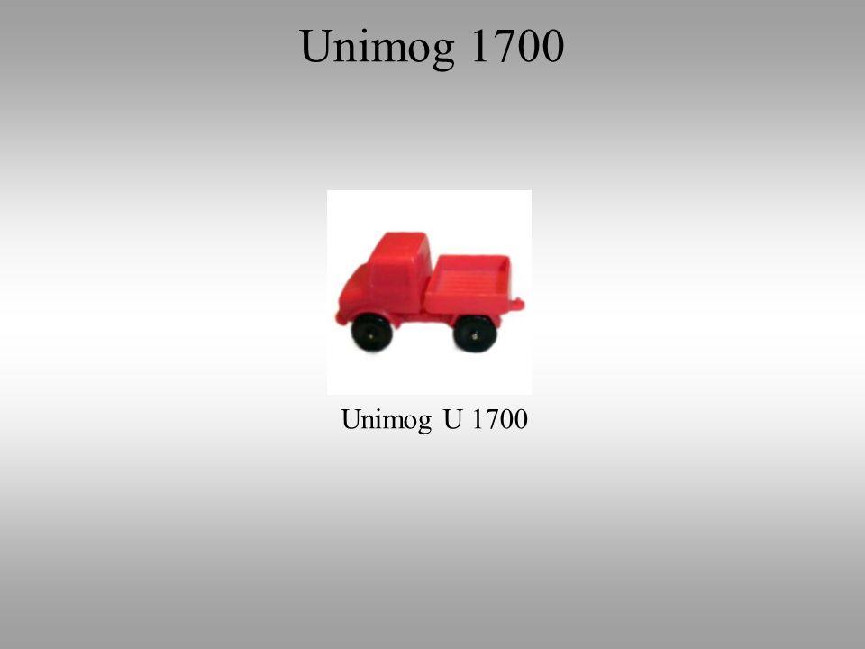 Unimog 1700 Unimog U 1700
