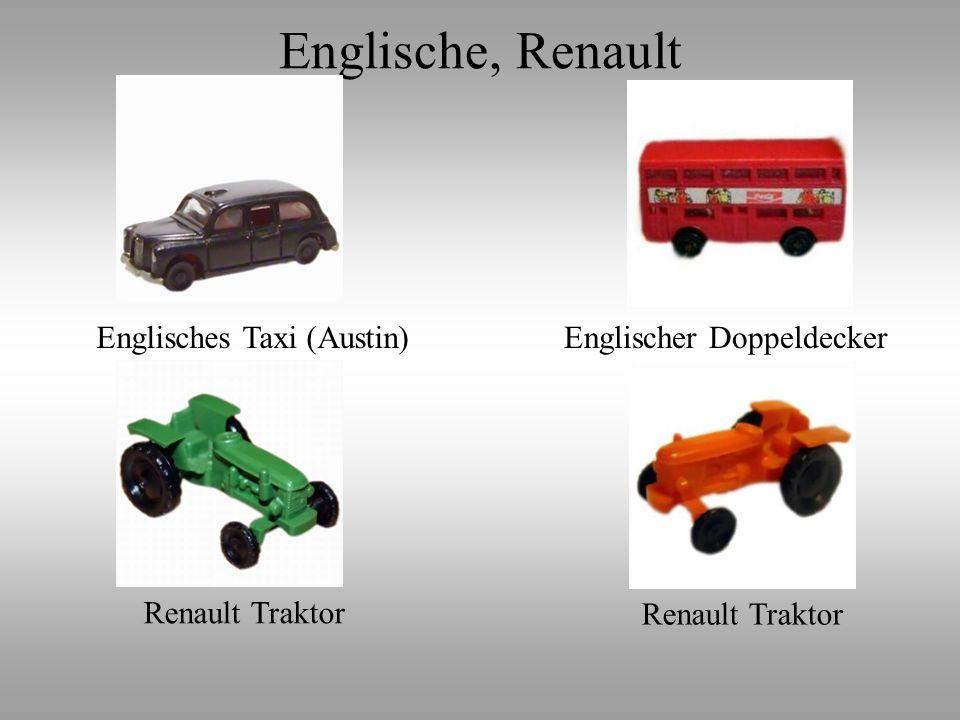 Englische, Renault Englisches Taxi (Austin) Englischer Doppeldecker