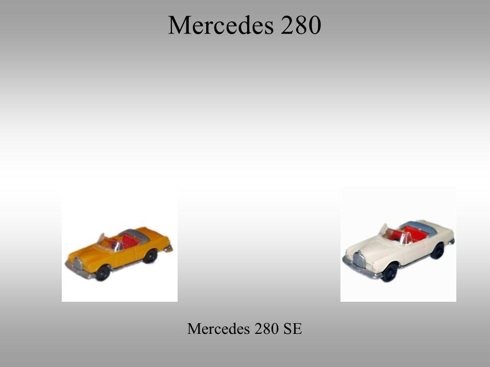 Mercedes 280 Mercedes 280 SE