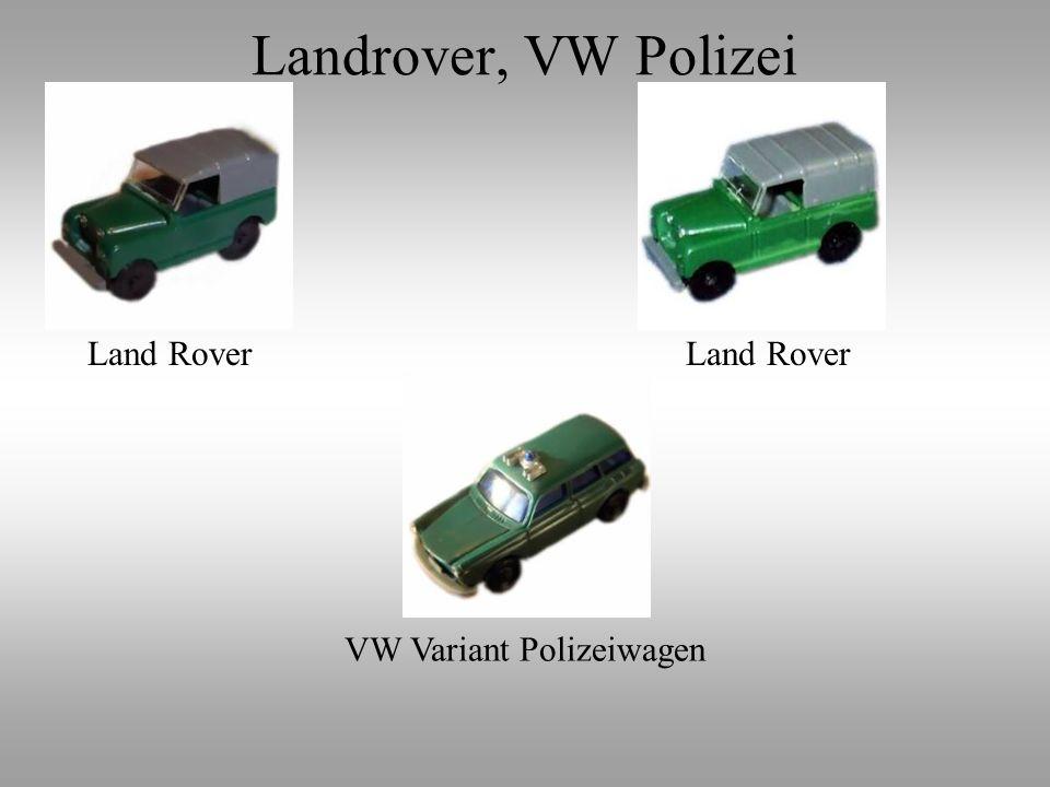 VW Variant Polizeiwagen