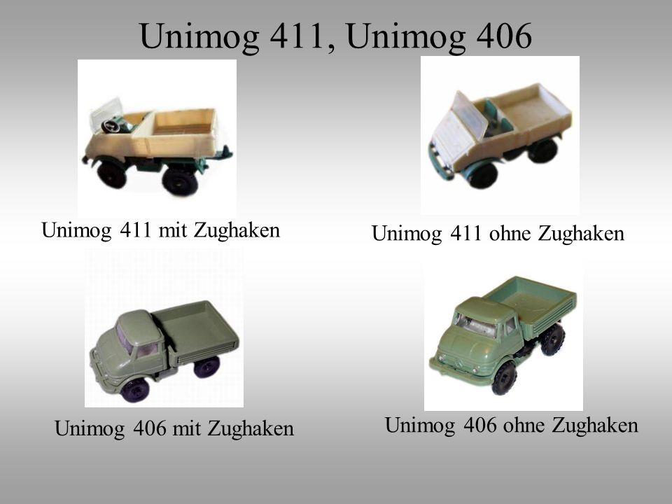 Unimog 411, Unimog 406 Unimog 411 mit Zughaken