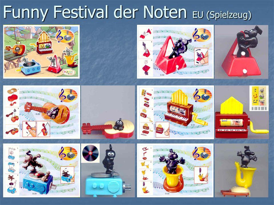 Funny Festival der Noten EU (Spielzeug)