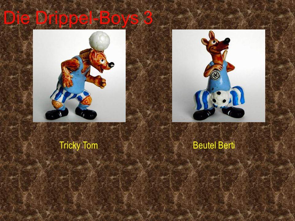 Die Drippel-Boys 3 Tricky Tom Beutel Berti