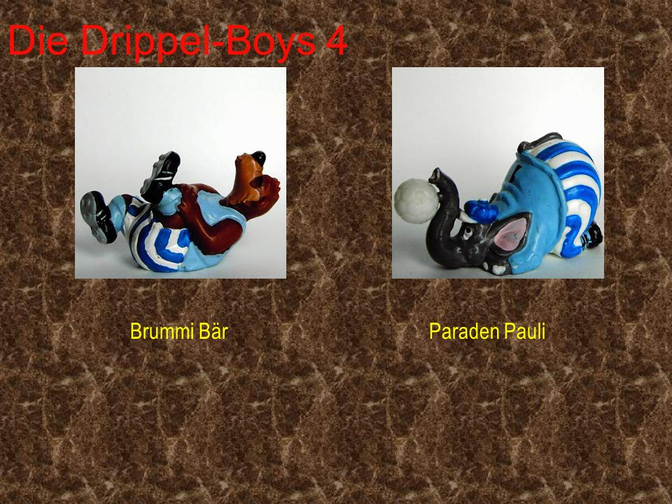 Die Drippel-Boys 4 Brummi Bär Paraden Pauli