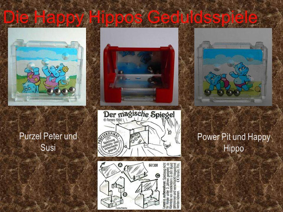 Die Happy Hippos Geduldsspiele