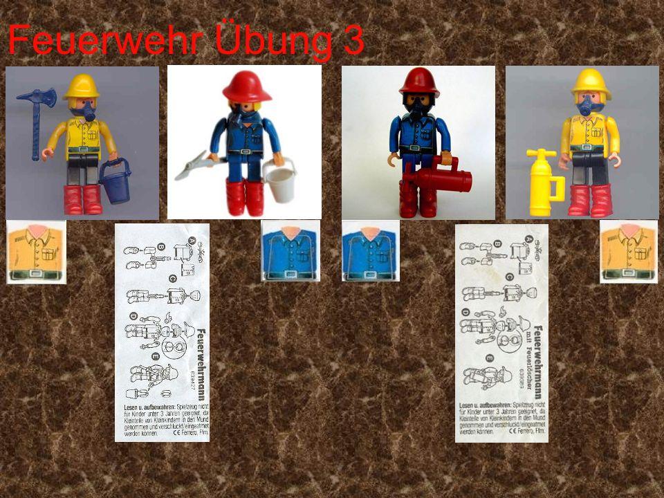 Feuerwehr Übung 3