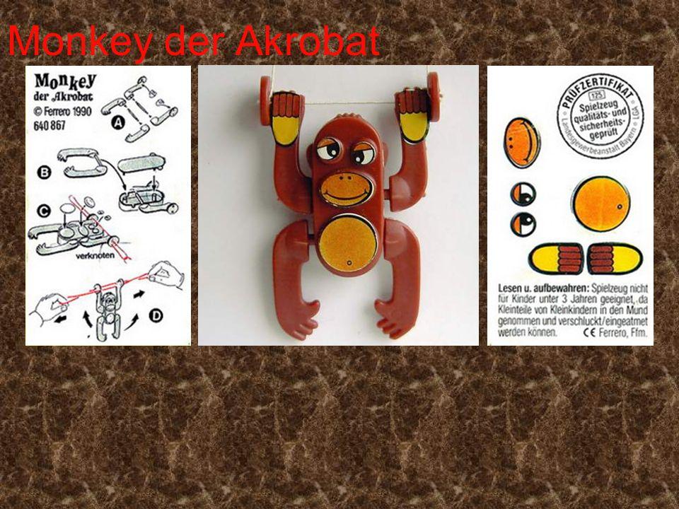 Monkey der Akrobat