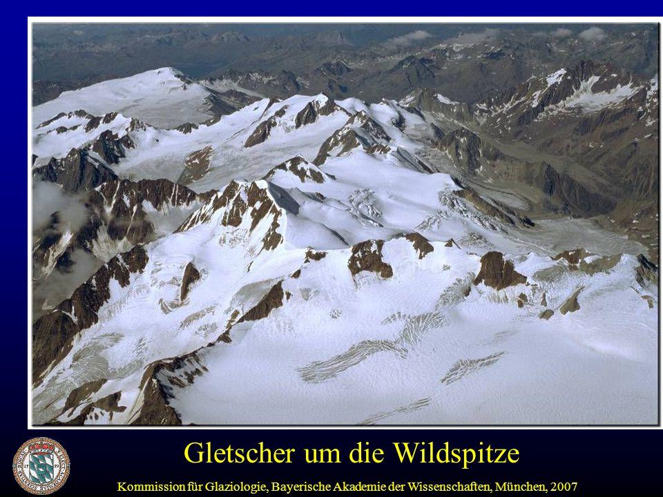 Gletscher um die Wildspitze