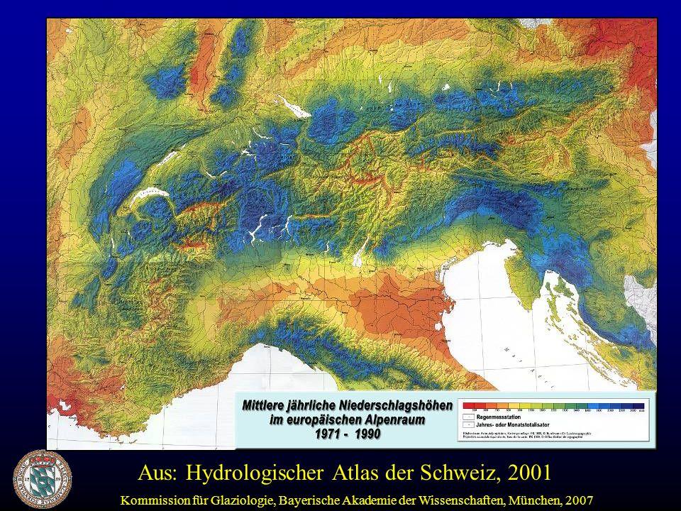 Aus: Hydrologischer Atlas der Schweiz, 2001