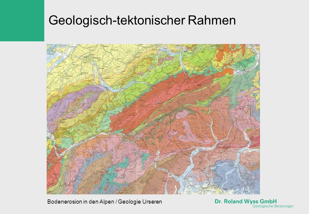 Geologisch-tektonischer Rahmen