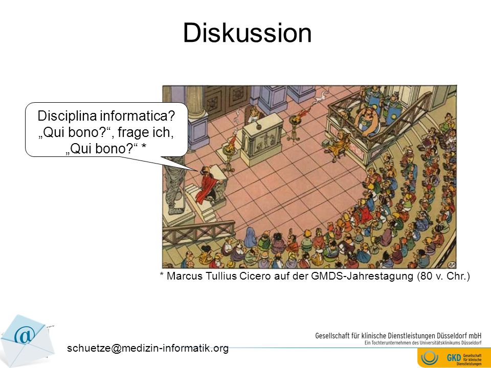 Diskussion Disciplina informatica