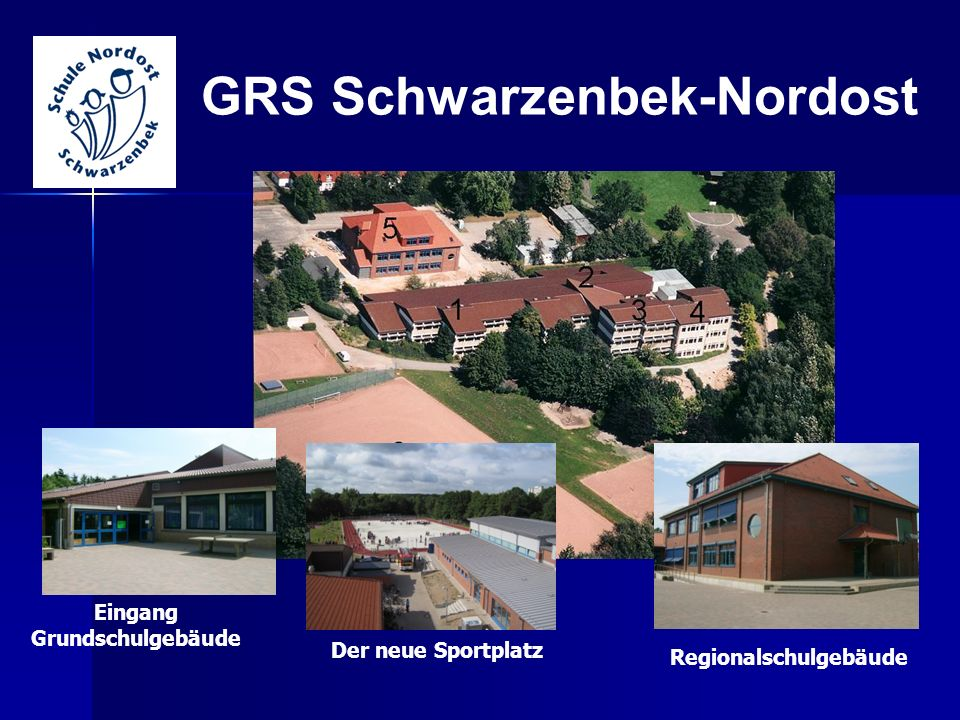 Eingang Grundschulgebäude Regionalschulgebäude
