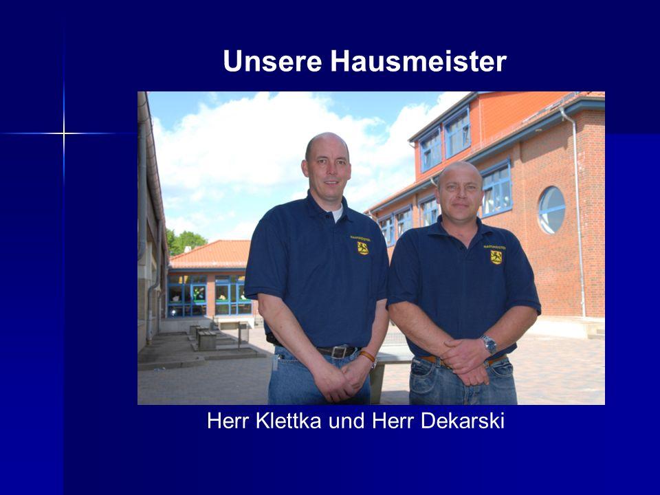Herr Klettka und Herr Dekarski