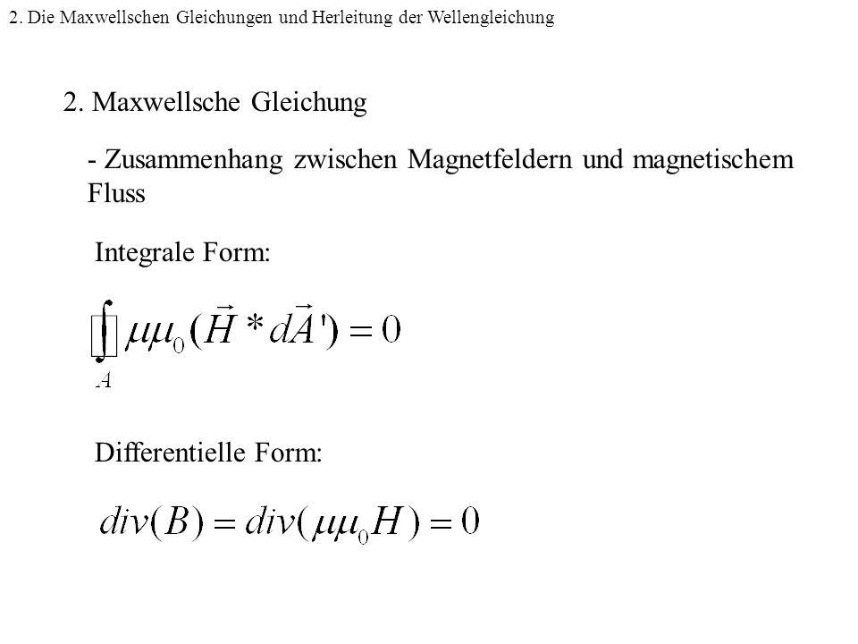 2. Maxwellsche Gleichung