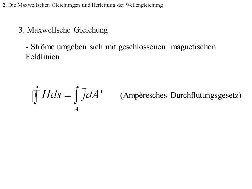 3. Maxwellsche Gleichung