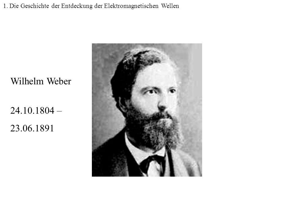 1. Die Geschichte der Entdeckung der Elektromagnetischen Wellen
