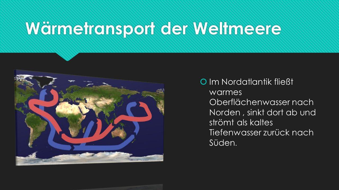 Wärmetransport der Weltmeere