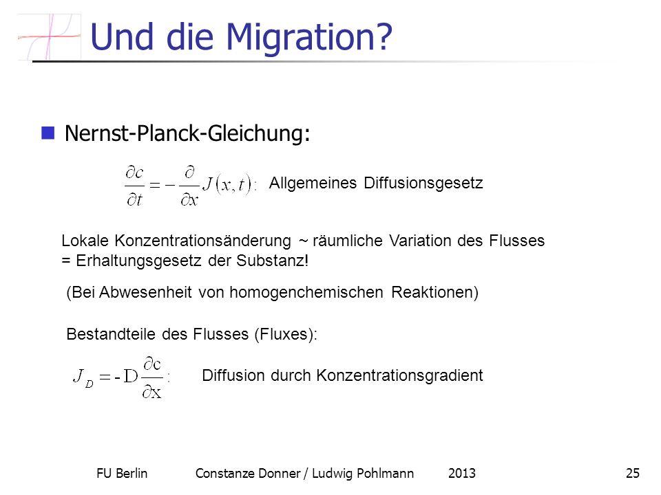 FU Berlin Constanze Donner / Ludwig Pohlmann 2013