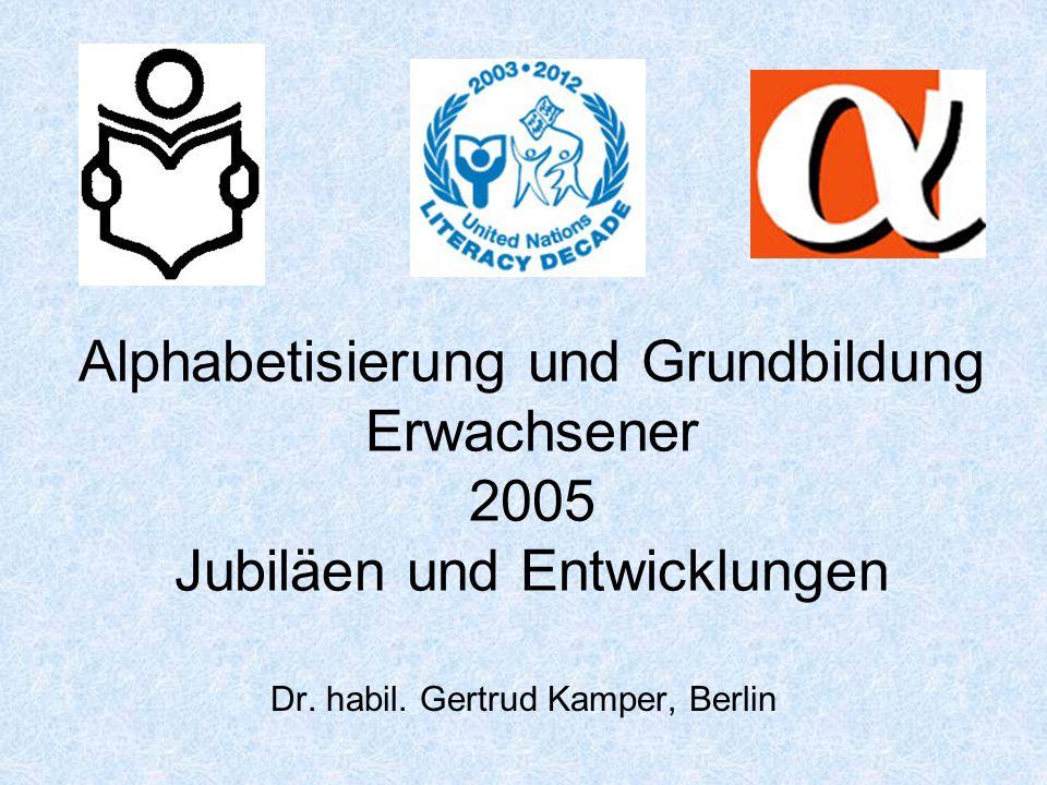Dr. habil. Gertrud Kamper, Berlin