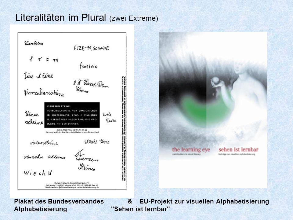 Literalitäten im Plural (zwei Extreme)