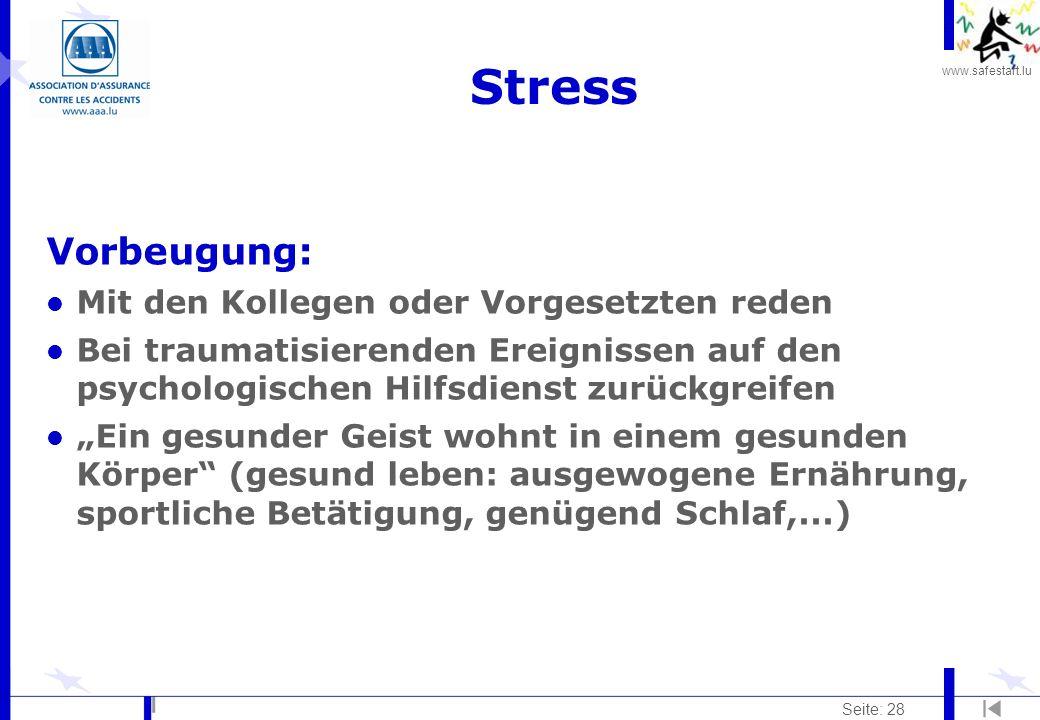 Stress Vorbeugung: Mit den Kollegen oder Vorgesetzten reden