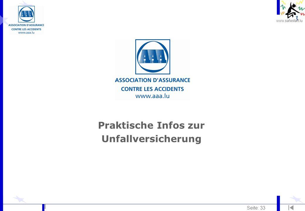 Praktische Infos zur Unfallversicherung